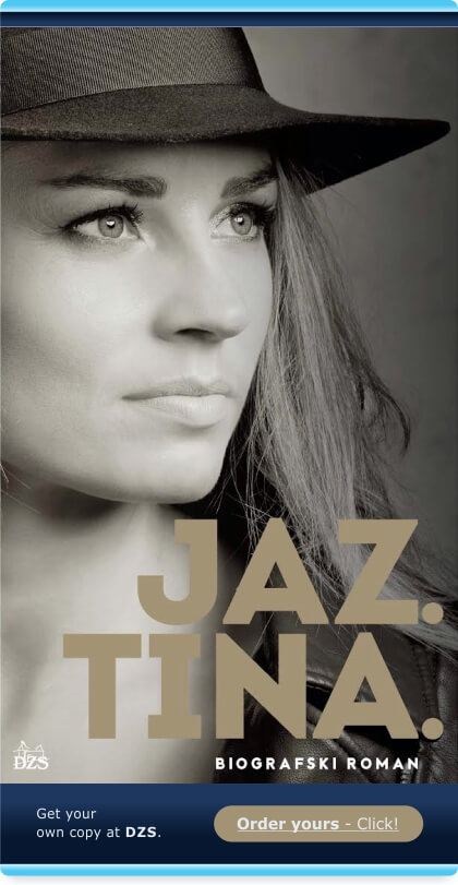 Jaz Tina - Biografski Roman
